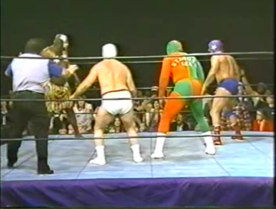 Mid-South Wrestling TV #169 December 4th 1982 – Mr Wrestling II's Mask Vandalised, Kamala Faces-Off with Masked Babyfaces, Rare Women's Match.